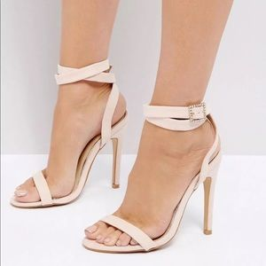 Truffle Collection Barely There Sandals size 8